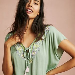 Floreat Loved by Anthropologie Persephone Top